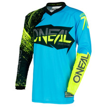 2018 O'Neal Element MX Jersey Element Black/Blue/Hi-Viz