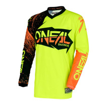 2018 O'Neal Element MX Jersey Burnout Black/Hi-Viz/Orange