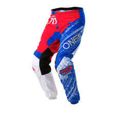 2018 O'Neal Element MX Pant Burnout Red/White/Blue