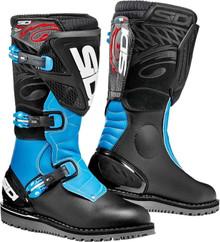 Sidi Trial Zero 1 Boots Black/Blue