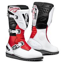 Sidi Trials Boots Zero 1 White/Red