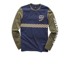 Alpinestars Longsleeved T-Shirt Kickstart Navy