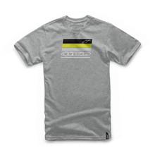 Alpinestars Men's Adult Casual T-Shirt News Grey Heather