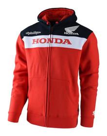 Troy Lee Designs Fleece Zip Hoody Honda Red