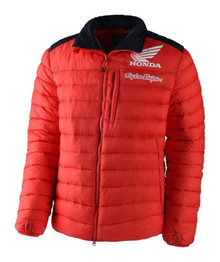 Troy Lee Designs TLD Men's Casual PUff Jacket Honda 17 Red