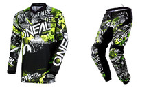2018 O'Neal Element Men's Combo Attack Black/Hi-Viz
