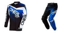 2018 O'Neal Element Men's Combo Racewear Black/Blue