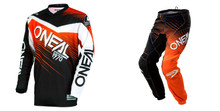 2018 O'Neal Element Men's combo Racewear Black/Orange