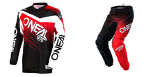 2018 O'Neal Element Men's Combo Racewear Black/Red