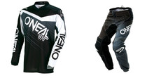 2018 O'Neal Element Men's Combo Racewear Black/Grey