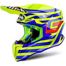 Airoh Twist MX Helmet Cairoli Qatar Yellow