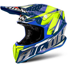 Airoh Twist MX Helmet Iron Blue