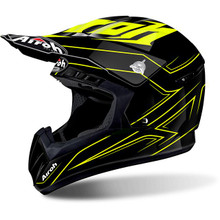 Airoh Switch MX Helmet Spacer Yellow