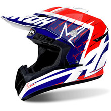 Airoh Switch MX Helmet Startruck Red