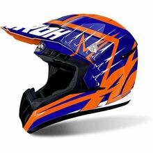 Airoh Switch MX Helmet Startruck Blue