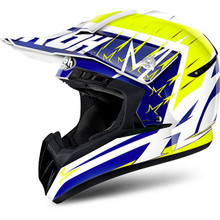 Airoh Switch MX Helmet Startruck Yellow