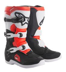 Alpinestars Tech 3S Youth Motocross Boots Black/White/Red