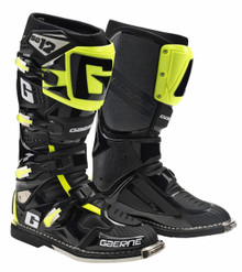 Gaerne SG12 Motocross Boots Limited Edition Black/Yellow