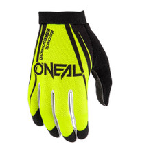 2018 O'Neal AMX Blocker MX Gloves Black/Neon Yellow