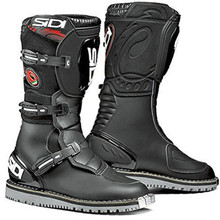 Sidi Courier Microfibre Trials Boots Black