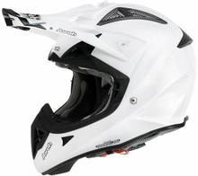 2015 Airoh Aviator 2.1 Helmet White Pearl