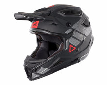 2018 Leatt GPX 4.5 V24 MX Helmet Black/Brushed