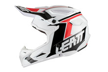 2018 Leatt GPX 4.5 V20 MX Helmet White/Black