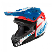2018 Leatt GPX 4.5 V25 MX Helmet Blue/White