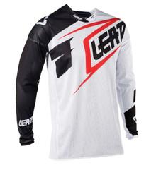 2018 Leatt GPX 4.5 X-Flow MX Hersey White/Black