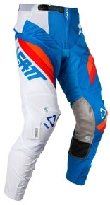 2018 Leatt GPX 5.5 I.K.S. MX Pants Blue/White