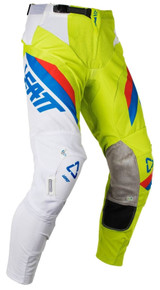 2018 Leatt GPX 5.5 I.K.S. MX Pant Lime/White