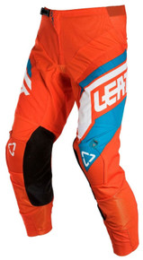 2018 Leatt GPX 4.5 MX Pants Orange/Denim