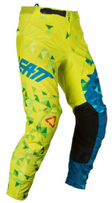 2018 Leatt GPX 4.5 MX Pants Lime/Teal