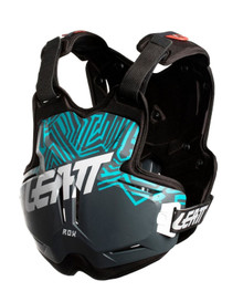 LEATT CHEST PROTECTOR 2.5 ADULT ROX GREY/TEAL