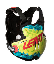 LEATT CHEST PROTECTOR 2.5 ADULT ROX LIME/TEAL