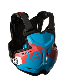 LEATT CHEST PROTECTOR 2.5 ADULT ROX BLUE/RED