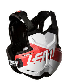 LEATT CHEST PROTECTOR 2.5 ADULT ROX WHITE/RED