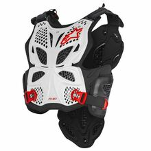 Alpinestars A10 Chest Protector White/Black/Red