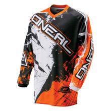 2018 O#Neal Element Shocker MX Jersey Black/Orange
