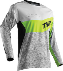 2018 Thor Fuse Men's MX Jersey High Tide Grey/Lime