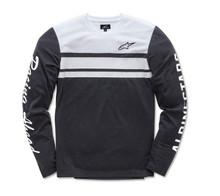 Alpinestars Long Sleeved Men's T-Shirt 2 Stroke Black