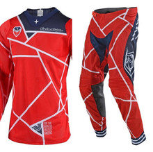 2018 Troy Lee Designs Men's MX Gear SE Air 18.1 Metric Red/Navy