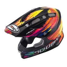 Suomy Alpha MX Helmet Torched