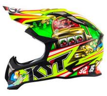 KYT Strike MX Helmet Eagle Roulette
