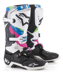 Alpinestars Tech 10 MX Boots Limited Edition Vision
