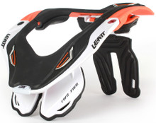 Leatt GPX 5.5 Neck Brace Orange/White/Black