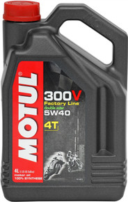 Motul Factory Line 300V 5W40 4T Off-Road-Race Oil 4 litres