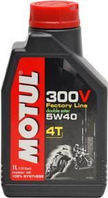 Motul Factory Line 300V 5W40 4T Off-Road-Race Oil 1 litre