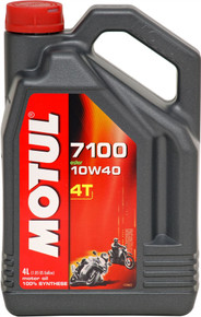 Motul Fully synthetic 7100 10W40 4T Oil 4 Litres