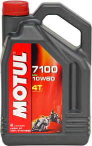 Motul Fully synthetic 7100 10W60 4T Oil 4 Litres